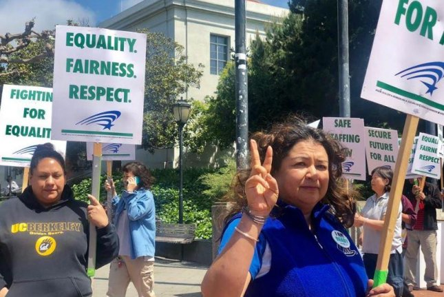 Up to 50,000 University of California workers strike over pay gap