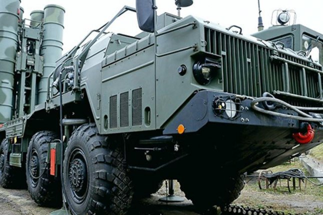 Syria will receive Russia's upgraded truck-mounted S-300 air defense system within two weeks, Russian Defense Minister Sergei Shoigu said Monday. Photo courtesy Russian Defense Ministry