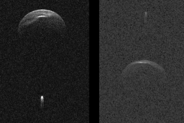 Near mile-wide asteroid with its own moon to pass by Earth