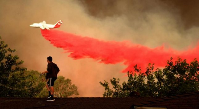 A state of emergency has been declared in California, and a local state of emergency declared in Los Angeles County as wildfires have burned 60,000 acres in Northern and Southern California. Neither fire is close to containment. Photo by Los Angeles County/Twitter