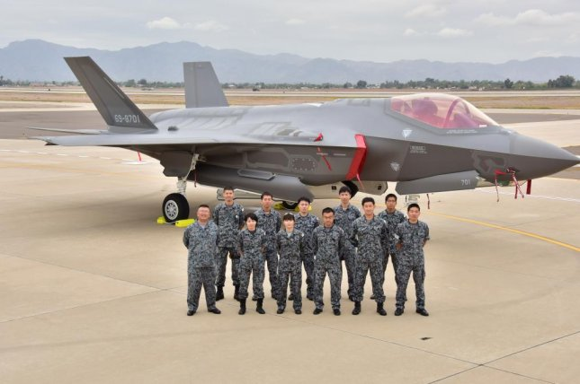 Japan's F-35 is to remain at Luke Air Force Base in Arizona, where pilots will receive additional training. Photo by Japan Air Self-Defense Force.