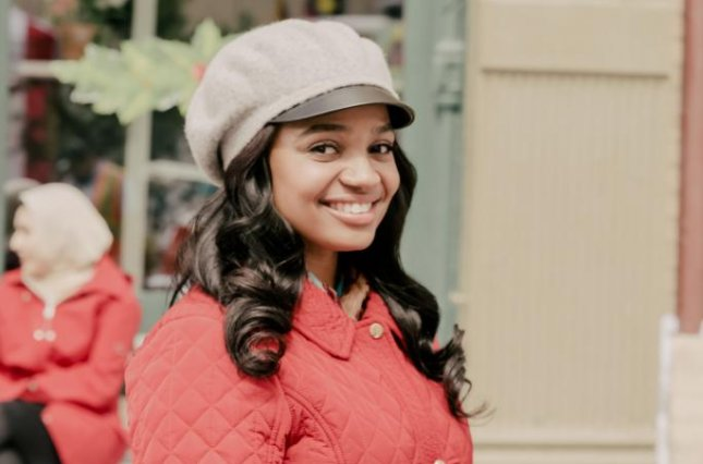 Kyla Pratt stars in No Time Like Christmas, the first movie in Lifetime's Christmas season. Photo courtesy of Lifetime