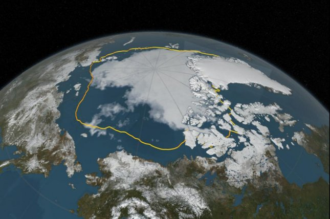 The movement of warm, moist air from the North Pacific to the Arctic is driving low-cloud formation and accelerating warming in the Arctic, new research suggests. Photo by NASA/Carnegie