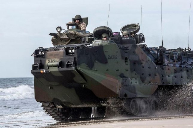 The Defense Security Cooperation Agency announced on Friday that the Spanish Defense Ministry was cleared to purchase 11 rebuilt assault amphibious vehicles from U.S. contractors. Photo by LCpl. Immanuel Johnson/U.S. Marine Corps