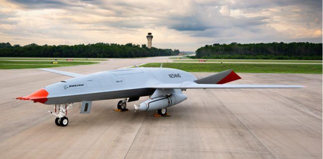 The U.S. Navy can proceed with plans to house MQ-25A unmanned aerial vehicles at Point Mugu, Calif., after a positive environmental assessment. Photo courtesy of Boeing