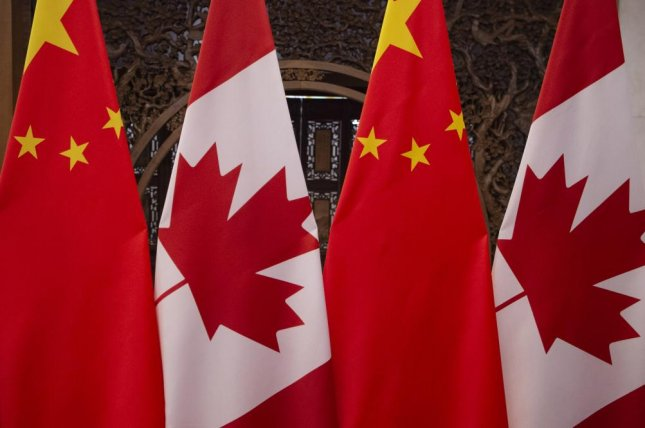 Tensions between China and Canada are rising following the arrests of citizens in both countries. File Photo by Fred Dufour/EPA-EFE