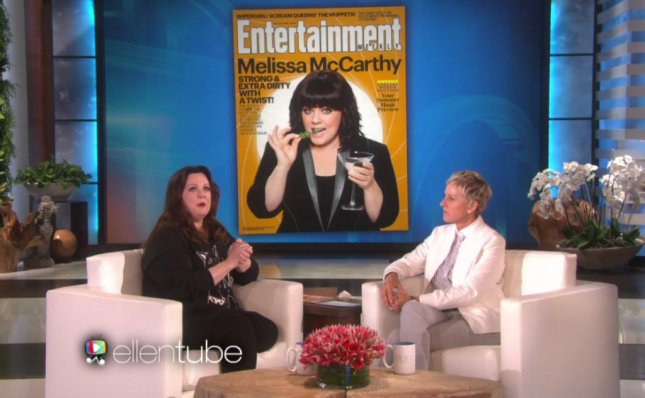 Melissa McCarthy discusses how she confronted a critic about his comments about her looks and taught him a lesson about the effects negative press can have on all women. Photo by The Ellen DeGeneres Show/EllenTube