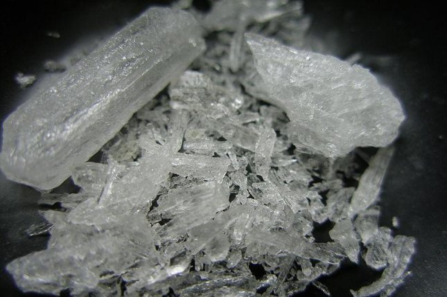 Side effects of methamphetamine use include addiction, psychosis, memory loss, aggressive or violent behavior, severe dental problems and weight loss. CC/Wikipedia