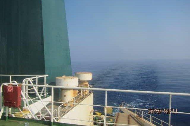 Tehran said the oil tanker Sabiti, pictured, was attacked in the Red Sea near the port of Jaddah, Saudi Arabia. Photo by IRIB TV/EPA-EFE