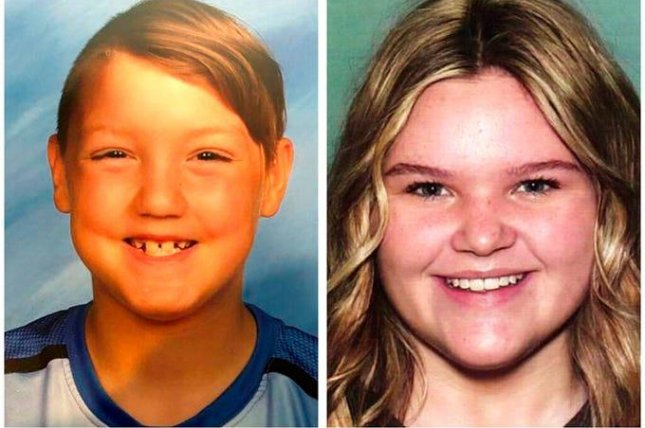 The remains of Joshua JJ Vallow, 7, and Tylee Ryan, 14, were identified after a search of the Idaho property of their stepfather Chad Daybell. Photo courtesy of the National Center for Missing and Exploited Children