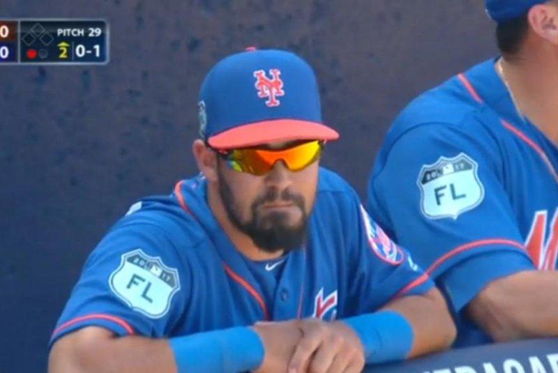 New York Mets SS Luis Guillorme. (New York Mets/Twitter)