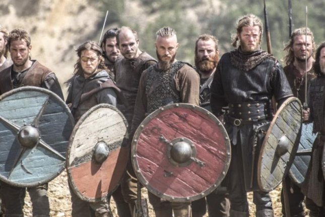 history channel hit vikings makes its second season premiere upi com