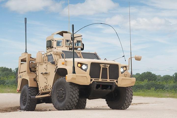 The U.S. Army has started ordering Oshkosh Defense's Joint Light Tactical Vehicle. Photo courtesy Oshkosh