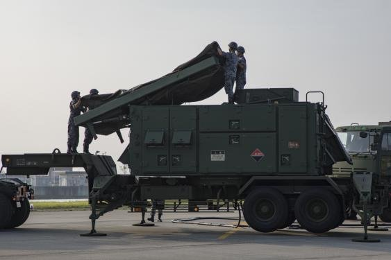 The Patriot PAC-3 anti-ballistic missile in use by the Japanese Self Defense Force will possibly now also be sold to Turkey, according to a Pentagon annoucnement. Photo by Cpl. Aaron Henson/Marine Corps Air Station Iwakuni