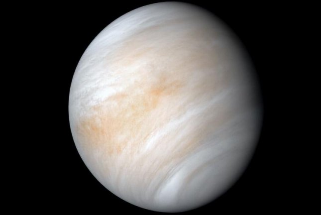 Astronomers have found phosphine molecules inside clouds in the upper layers of Venus' atmosphere, which suggests there could be microscopic life on the planet. Photo byNASA/JPL-Caltech