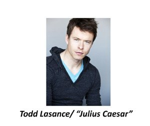 Photo of new Spartacus cast member Todd Lasance, courtesy of Starz.