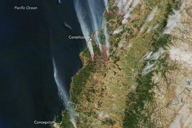 Chile Forest Fires Destroy Over 1500 Homes