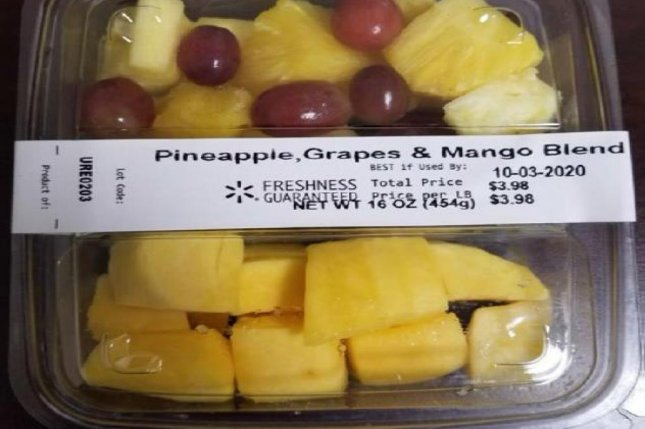 Walmart recalled packages of sliced, prepackaged fruit in nine states after FDA inspectors found evidence ofListeria monocytogenes in a Country Fresh facility. Photo courtesy of Country Fresh.