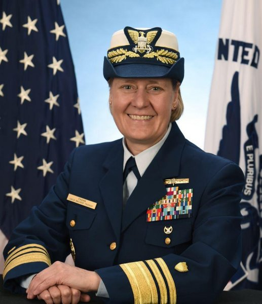 Vice Adm. Linda L. Fagan's nomination on Monday to U.S. Coast Guard Vice Commandant would make her the USCG's first female four-star admiral. Photo courtesy of U.S. Coast Guard