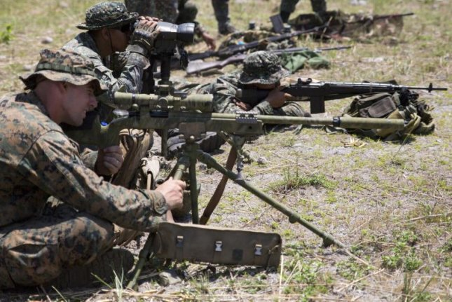 U.S. and Philippine Marines conduct live-fire sniper training during the Balikatan annual training exercise. U.S. Marine Corps photo by Lance Cpl. Joey S. Holeman, Jr.