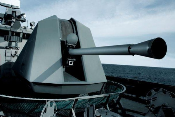 BAE Systems Land & Armaments LLP received a $22.7 million contract, announced on Tuesday, to build three MK 110 gun mounts for the U.S. Navy. Photo courtesy of BAE Systems