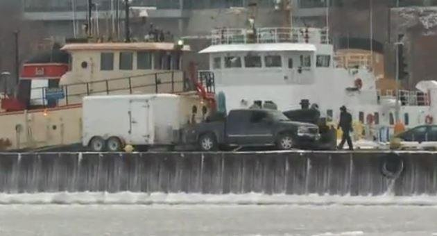 A search resumed in Cleveland on Monday for a small plane that is believed to have crashed into Lake Erie with six people aboard. Screenshot by WJW-TV, Cleveland