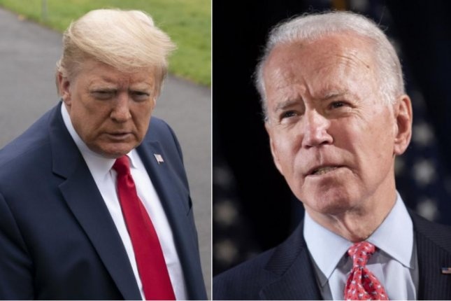 The first U.S. presidential debate of 2020 will move to Case Western Reserve University in Cleveland on Sept. 29 after the University of Notre Dame cancelled plans to host the event. File Photos byChris Kleponis andKevin Dietsch/UPI