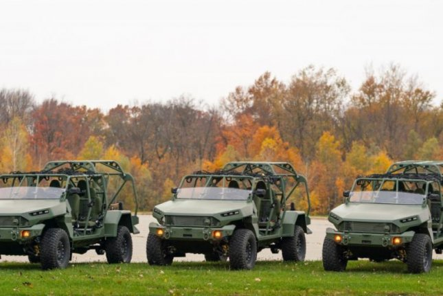 GM is renovating a facility in Concord, North Carolina to support production of the Infantry Squad Vehicle an all-terrain troop carrier intended to transport a nine-Soldier infantry squad. Photo by John F. Martin for GM Defense