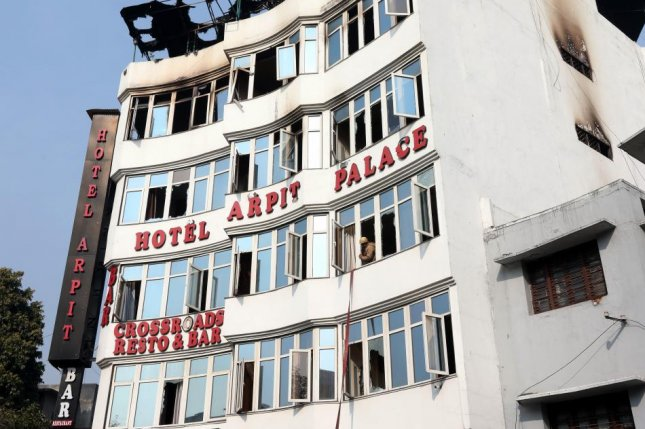 At least 17 dead in India hotel fire - UPI com