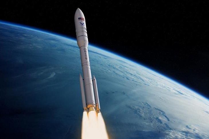 Northrop Grumman's OmegA rocket is under development for a first launch in spring of 2021. Image courtesy of Northrop Grumman