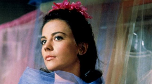 Natalie Wood starred in West Side Story in 1961.