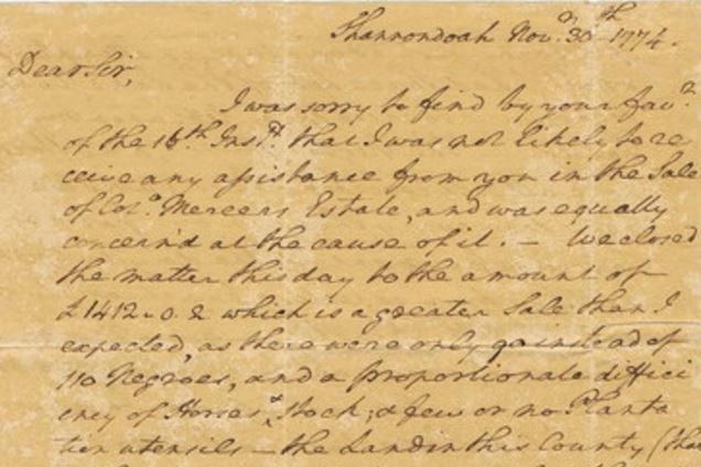 a letter to president george washington Letter from george washington to his wife martha washington, june 18, 1775  november 27, 2013.
