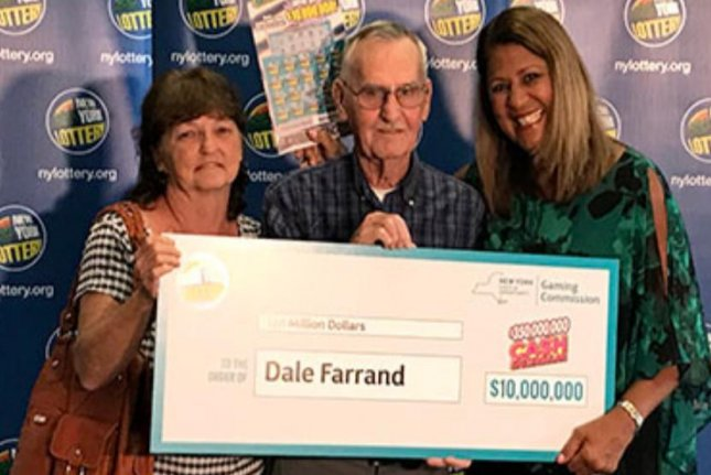 A New York state man who stopped to get some treats for his dog ended up winning a $10 million prize. Photo courtesy of the New York Lottery