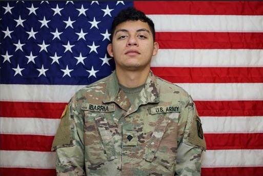 Spc. Vincent Sebastian Ibarria, 21, is the ninth U.S. soldier to be killed in Afghanistan this year.Photo courtesy of 1st Infantry Brigade Combat Team, 10th Mountain Division/Facebook