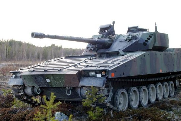 Dutch CV90s are set to receive active protection through Iron Fist technology. Photo courtesy of BAE Systems