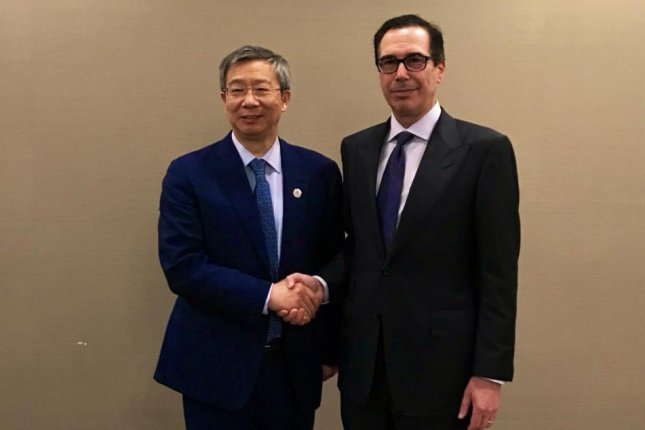 G-20 leaders expressed serious concern over trade tensions as U.S. Trade Secretary Steven Mnuchin said President Donald Trump would decide whether to impose more tariffs on China after the annual summit. Photo courtesy Steven Mnuchin/Twitter