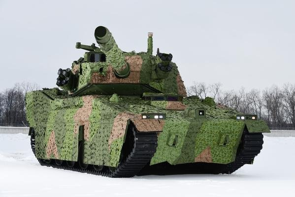 BAE Systems has submitted its proposal to the U.S. Army to build and test the Mobile Protected Firepower vehicle for use by the Infantry Brigade Combat Team. Photo courtesy of BAE Systems
