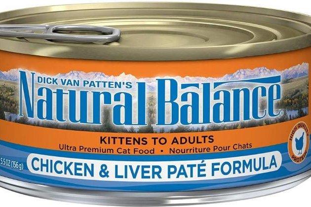 Natural Balance Cat Food Recall