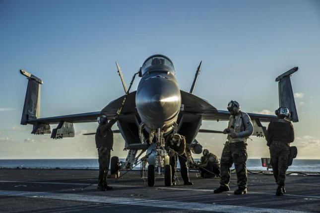 The U.S. Navy's plans to extend the service life of its F/A-18 aircraft come as the force continues to meet delays on procuring their variant of the Lockheed Martin F-35 Lightning II multirole fighter. Photo by the U.S. Navy.