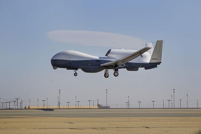 The MQ-4C Triton unmanned surveillance aircraft has completed a 60-hour operational assessment. U.S. Navy photo