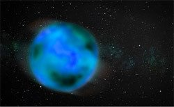An artist's conception of a nomad object. Credit: Stanford University