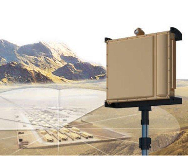 SPEXER 1000 Security radar for camp, perimeter and infrastructure surveillance. courtesy of Cassidian.com