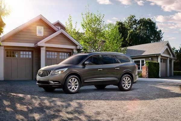 The popular the 2008-13 Buick Enclave crossover SUV is one of the vehicles that was recalled Tuesday. (Credit:Buick)