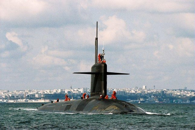 A French Navy nuclear submarine. (French Navy photo)