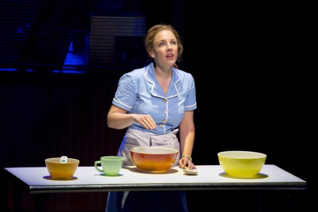 Jessie Mueller in a scene from Broadway's Waitress. Photo courtesy of Boneau/Bryan-Brown