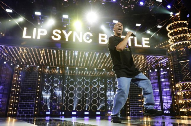 LaVar Ball performs a song while on the show Lip Sync Battle. Photo courtesy of Paramount Network.
