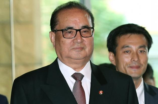 North Korean official Ri Su Yong was in Cuba and was seen in Moscow this week, according to a Japanese press report. File Photo by Narong Sangnak/EPA