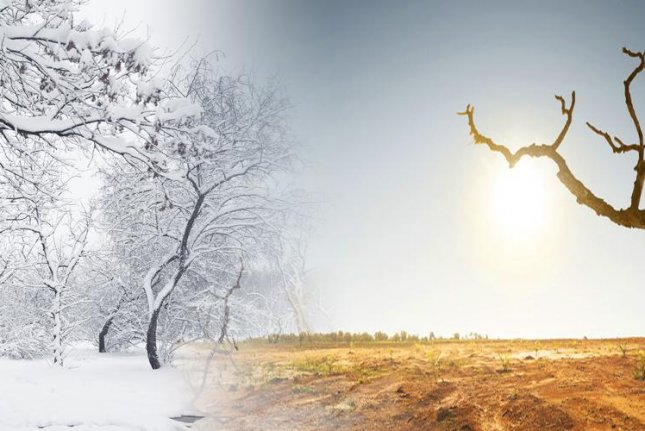 The difference in winter and summer atmospheric temperatures has grown larger over the last several decades as a result of manmade climate change, new data shows. Photo by LLNL