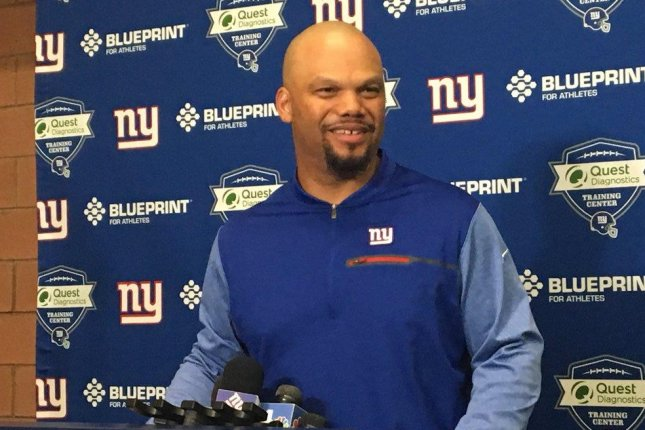 New York Giants special teams coach Thomas McGaughey (pictured) announced Thursday that he is undergoing chemotherapy as part of treatment for cancer. Photo courtesy of New York Giants/Twitter