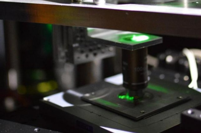 Researchers at the University of Queensland developed a quantum microscope, pictured, that they say could allow for images of previously impossible-to-see biology. Photo by University of Queensland